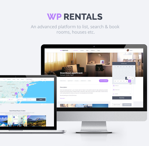 wp rentals booking accommodation wordpress theme real wp rentals booking accommodation wordpress theme by
