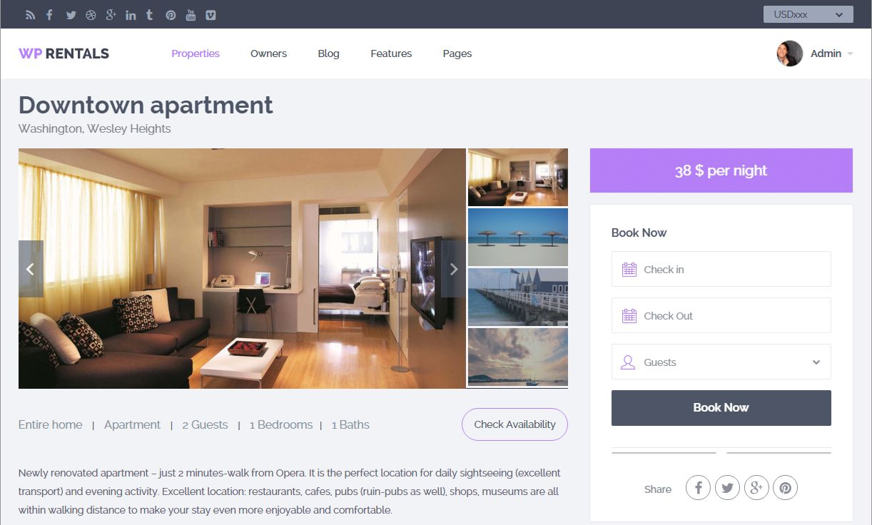 property page dsign type 1