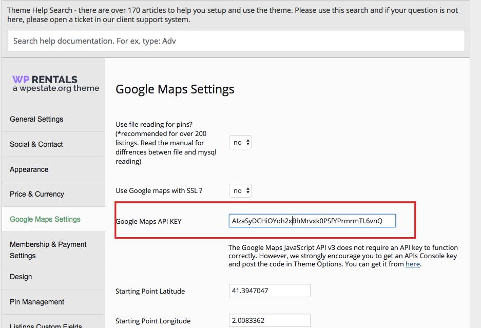 Mandatory google maps api key wp rentals help - Google map api key console ...