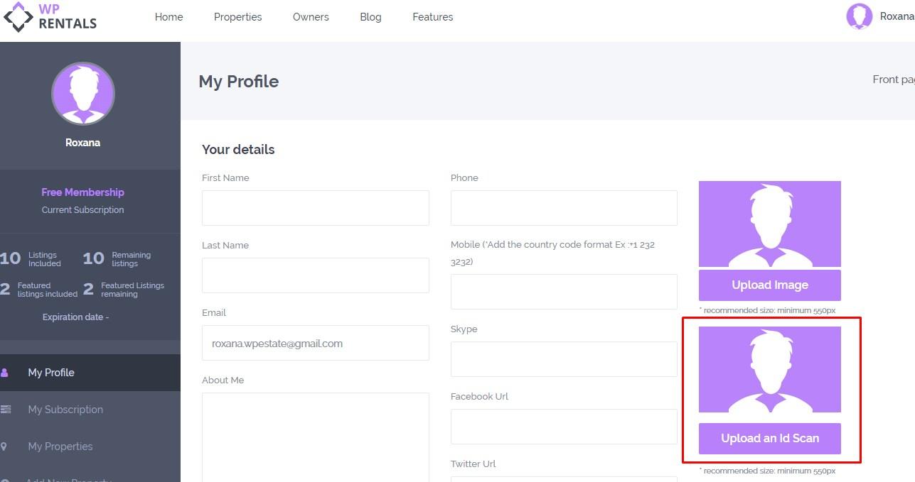 Verify Owner - WP Rentals Help