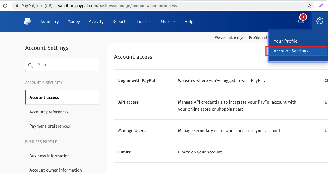 Paypal Live Support