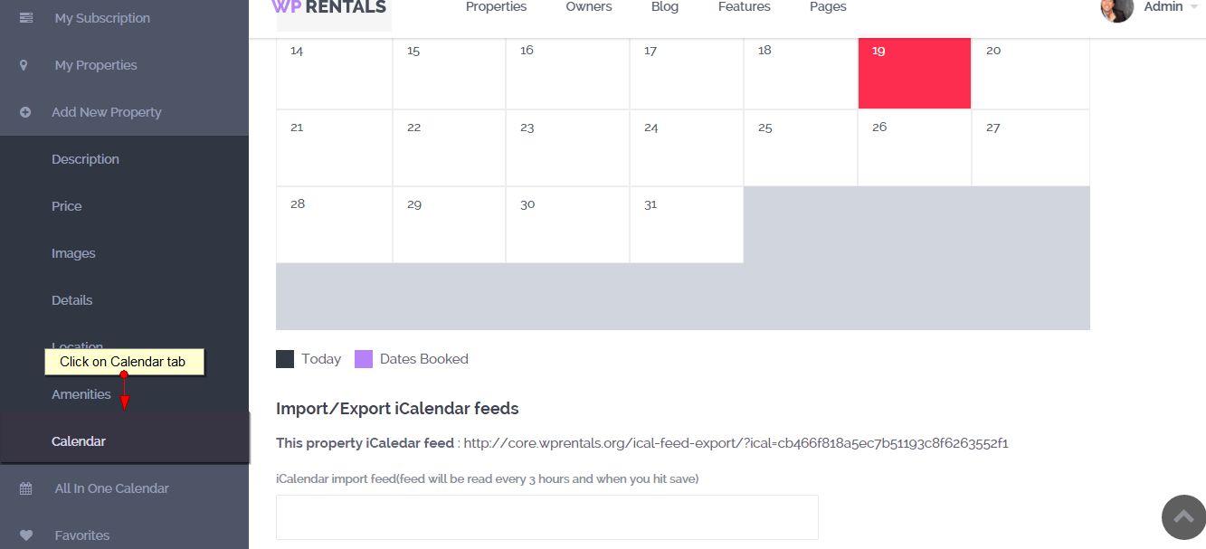 calendar tab 2